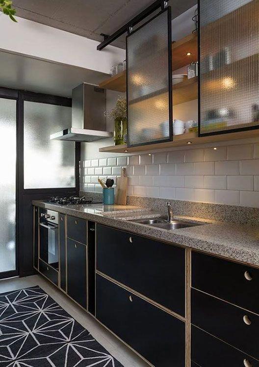 Kitchen Liners 90 Models Designs And Photos En 2020 Cocinas De
