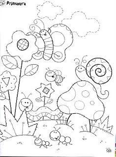 Diversos Desenhos De Caracol Para Imprimir E Colorir Desenhos