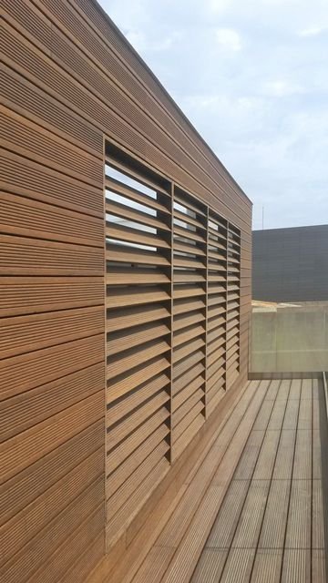 Bamboo cladding / solid - MOSO Bamboo Products | bamboo in