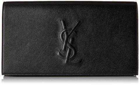 7223dd282eb9 Yves Saint Laurent Ysl Belle De Jour Leather Large Clutch Bag ...