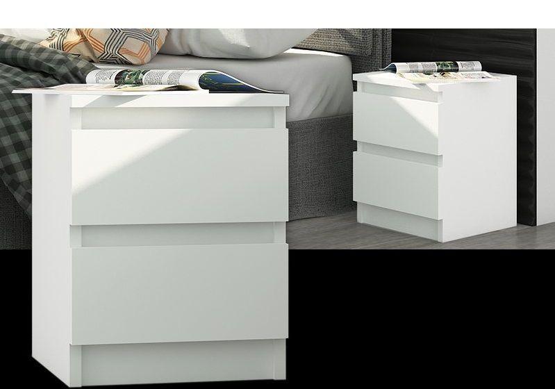 Nachtschrank Nachttisch Kommode Schrank Schlafzimmer 2 Schublade
