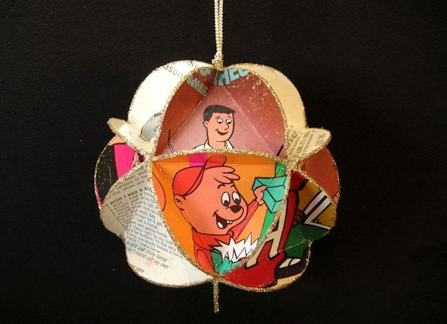 Alvin & The Chipmunks Album Cover Ornament Made of Record Jackets - Music For Children Cartoons