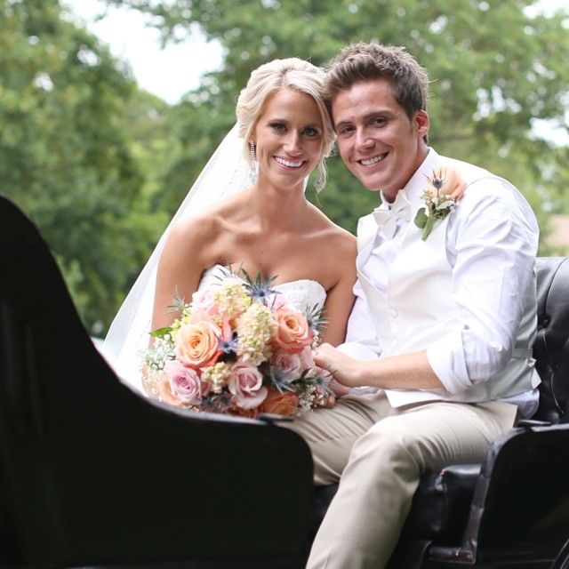 Caleb And Kelsey Grimm On Their Wedding Day Beautiful Photo Of