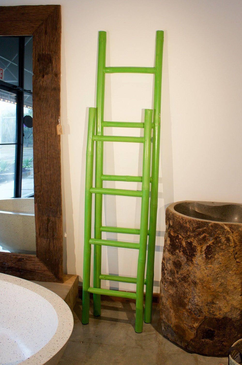 Bamboo Decorative Ladder Handmade