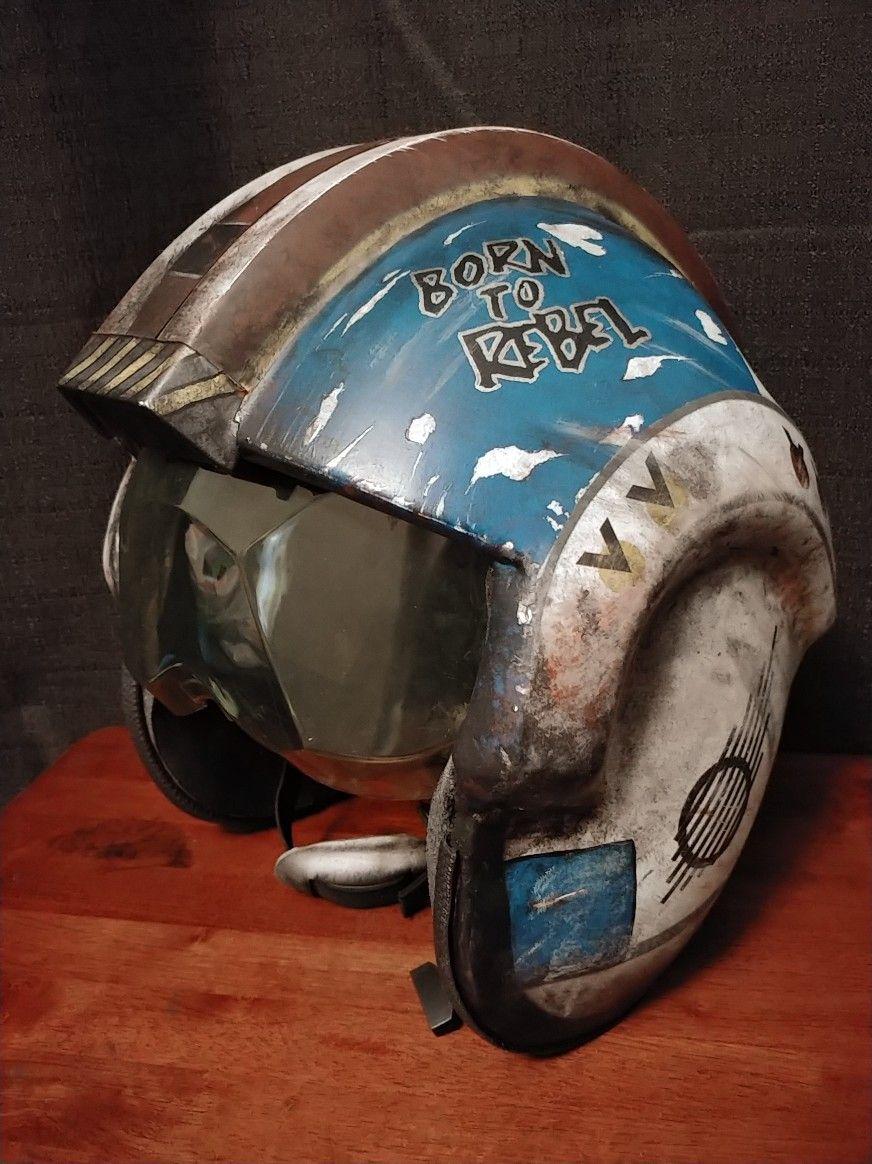 X Wing Helmet Artifact Star Wars Helmet Star Wars Concept Art Helmet Concept