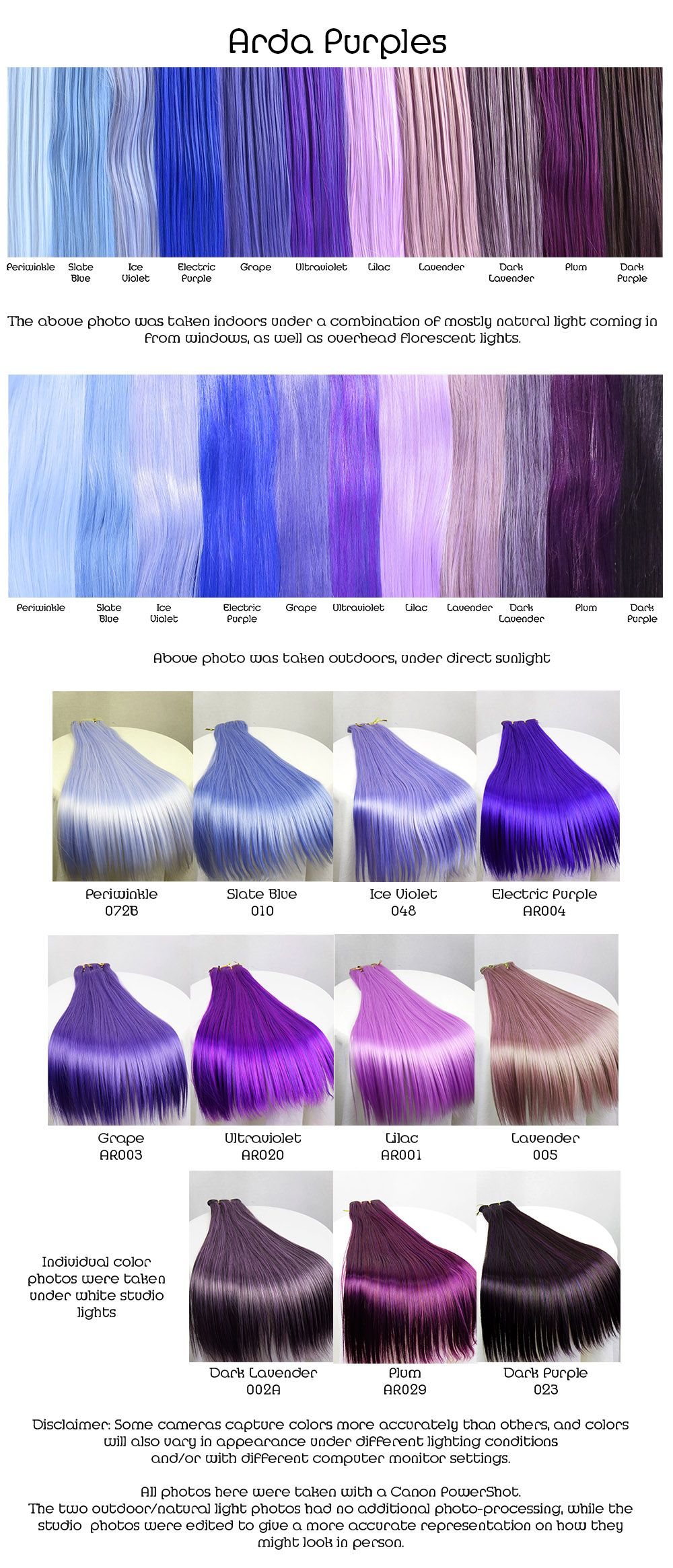I think I like the dark lavender. Might be a good color to ...