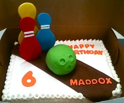 Bowling Cake By Strictlysweets10 on CakeCentral.com