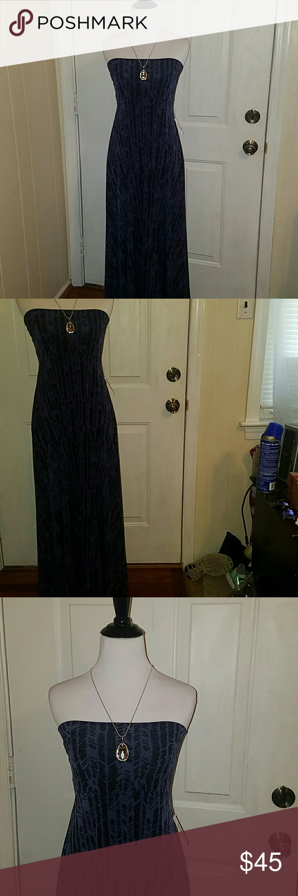 LULAROE MAXI DRESS NWT* IN XS .. VHTF SUPER CUTE PRINT AND Very HARD TO FIND PRINTED MAXI DRESS IN EXTRA SMALL BY LULAROE . BRAND NEW WITH TAGS ATTACHED . VERY STRETCHY AND SLINKY ... (* NECKLACE/PENDANT FOR SHOW ONLY ON DISPLAYS not for sale) Indigo and Black patterned print is adorable. LuLaRoe Dresses Maxi