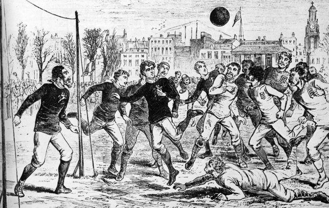 Resultado de imagen para scotland england 1878