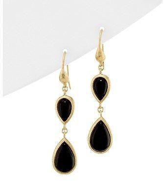 Elegant Black Onyx Drop Earrings I Would Totally Wear Dropearring