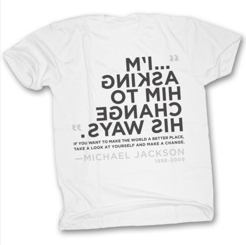 Man In The Mirror T-Shirt. I.Do.Want.