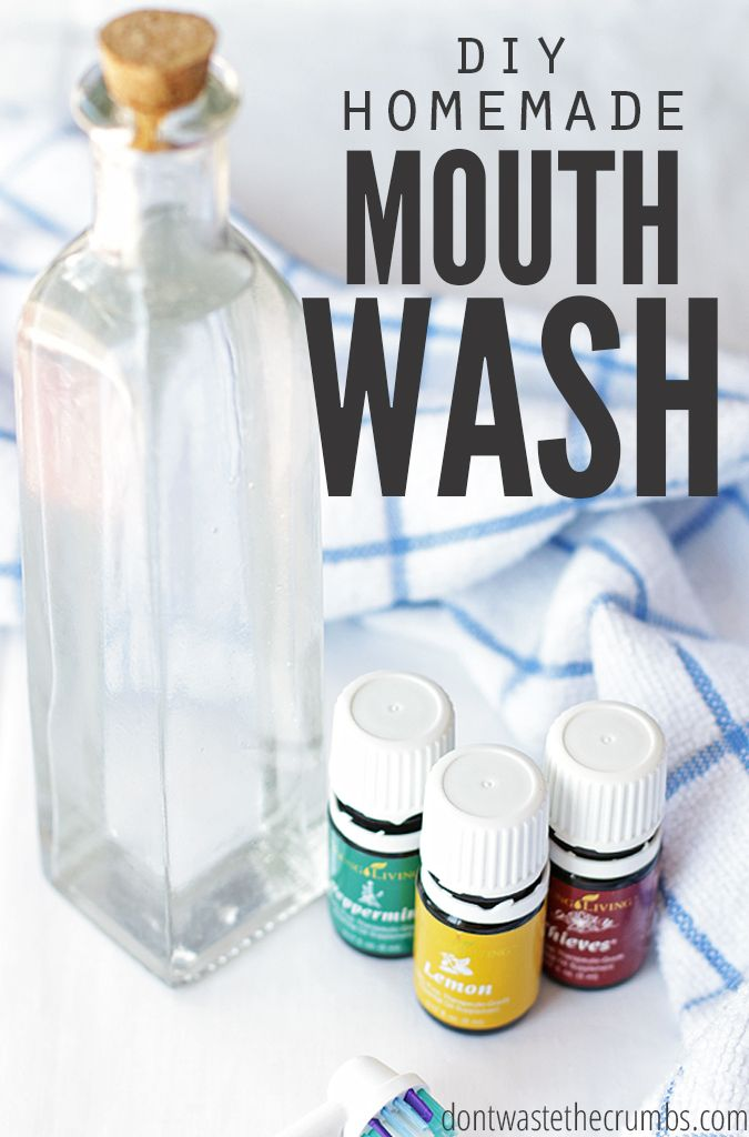 Improve your dental health dramatically with homemade versions! This homemade mouthwash is not only cheaper