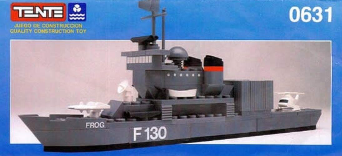 Barco de la armada Tente