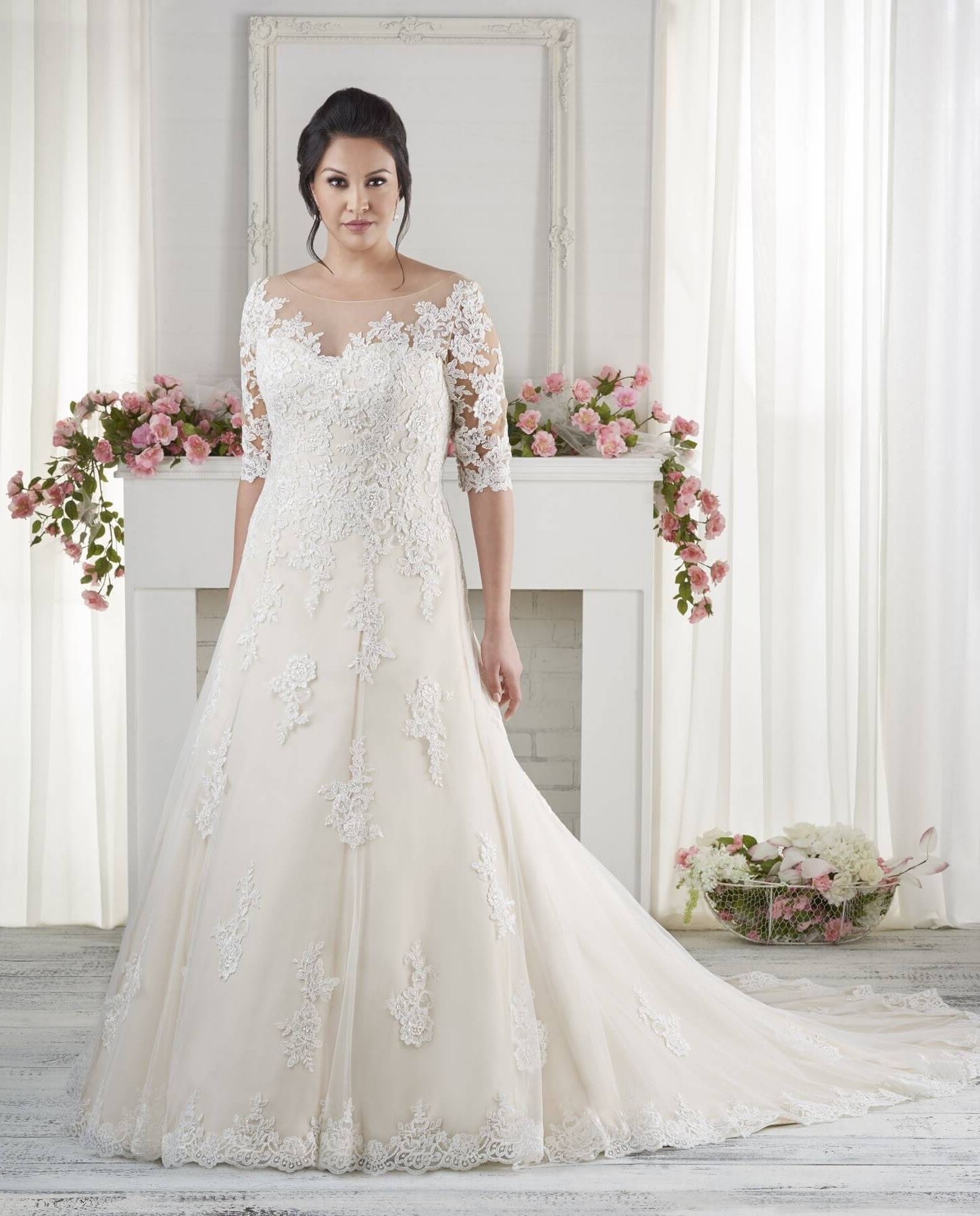 Wedding Gowns For Heavier Brides | Wedding dresses pinterest