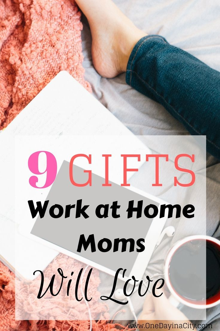 Gift Ideas Guide for the Work at Home Mom | Working moms