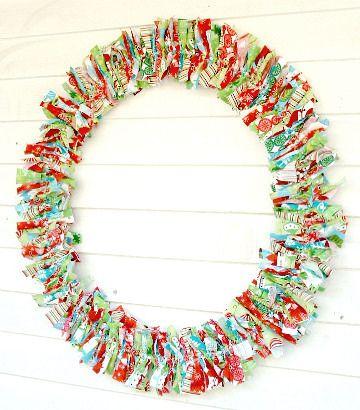 RagHearth rag wreaths (2) - From: http://stunninghomedecor.com/2015/11/16/raghearth-rag-wreaths-2/