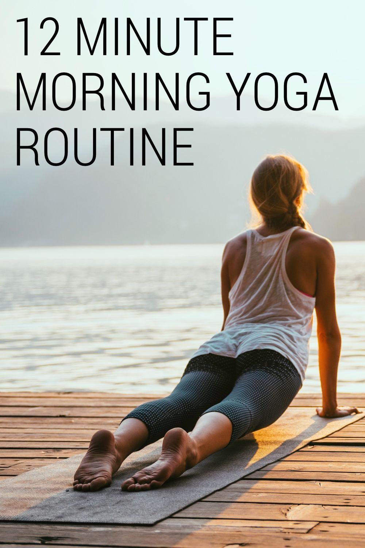 Morgen Yoga: Eine 12-minütige Yoga-Routine, um Ihren Tag zu beginnen