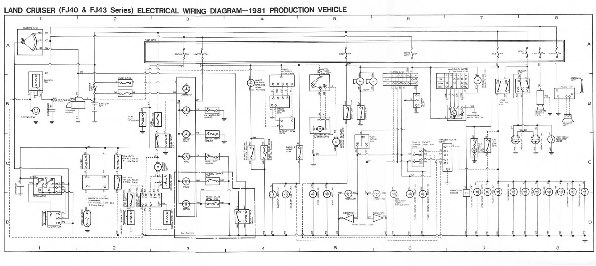 DIAGRAM] Wiring Diagram Toyota Landcruiser 40 Series FULL Version ...