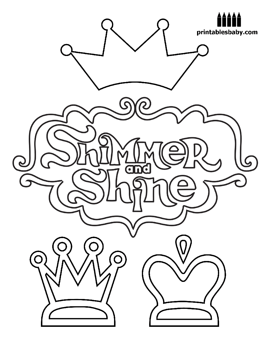 Shimmer And Shine | Free cartoons, Birthdays and Birthday party ideas