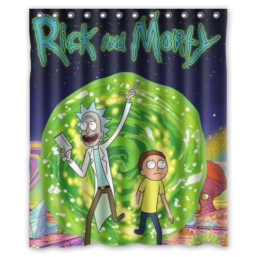 Rick And Morty Custom Shower Curtain 60 X 72 Check Out The