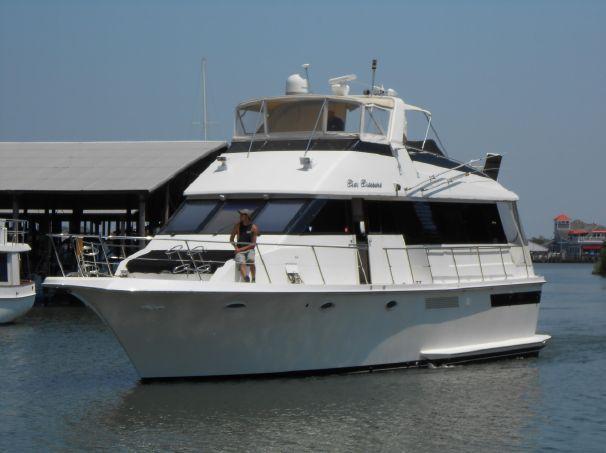 1990 Viking 50 Motor Yacht Power Boat For Sale - www yachtworld com