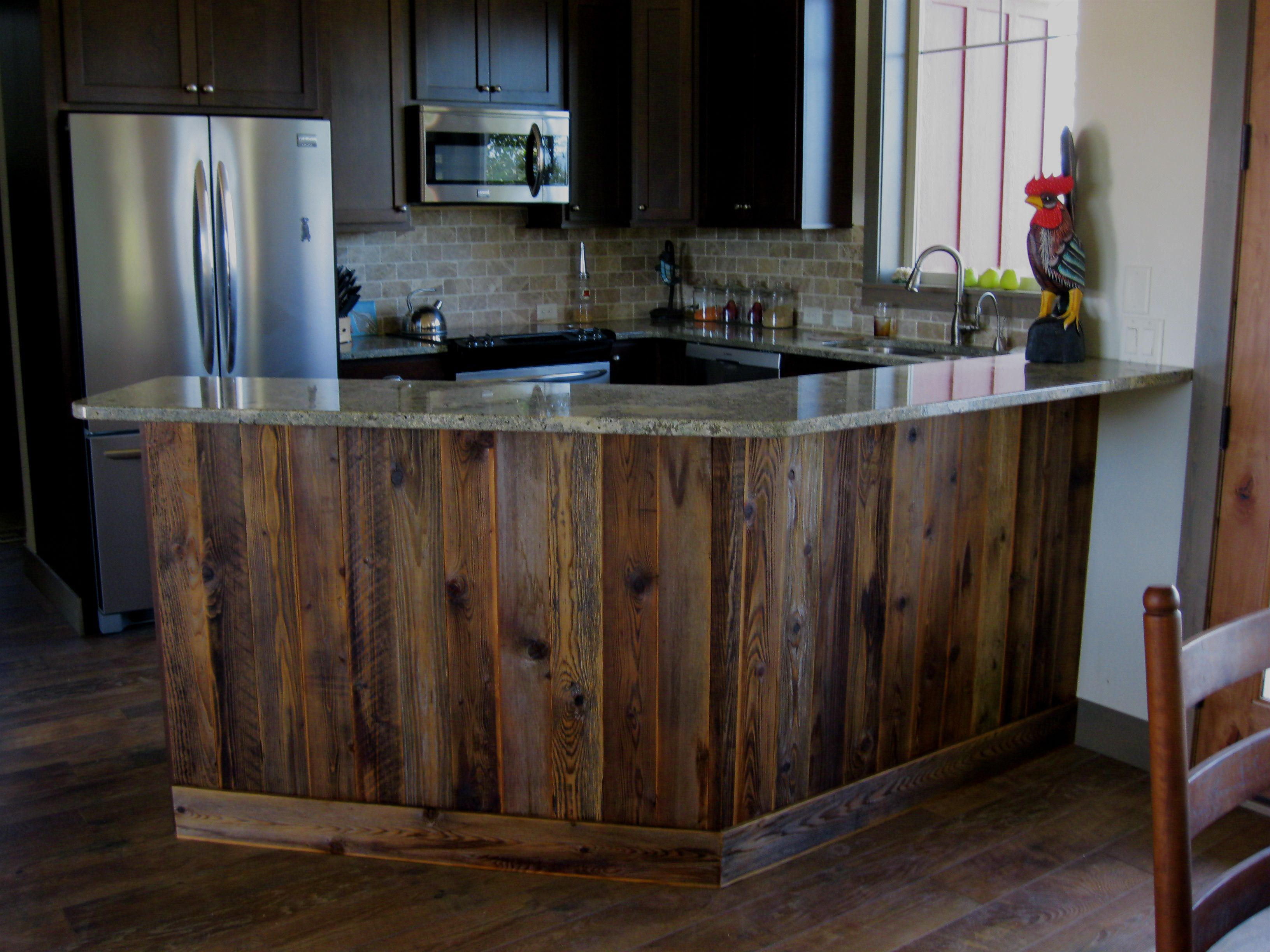 A Bar I Did In Whitefish With Reclaimed Wood New Birth