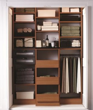 The Most Beautiful Linen Closet Contemporary Closet Boston California Closets New England California Closets