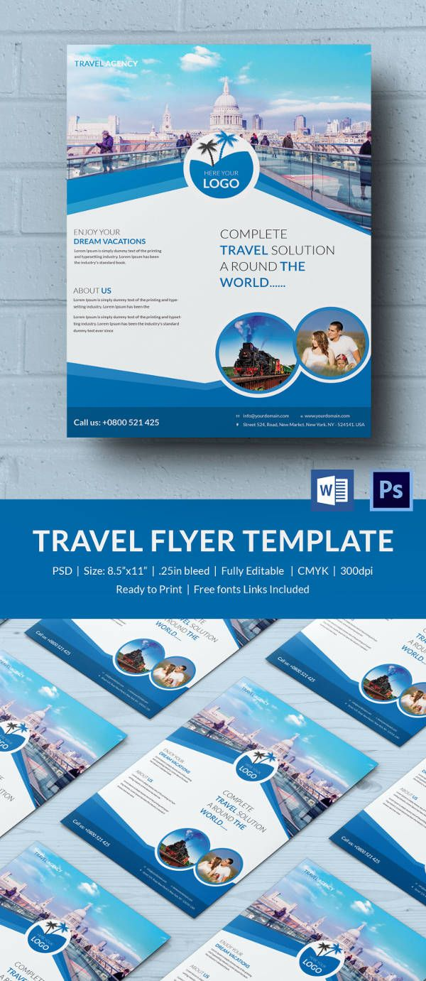 Flyer Microsoft Word Template