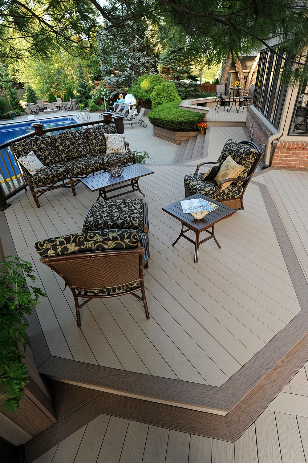 Deck Board Accent Idea | Trim The Borders Of Your Deck, As Well As The