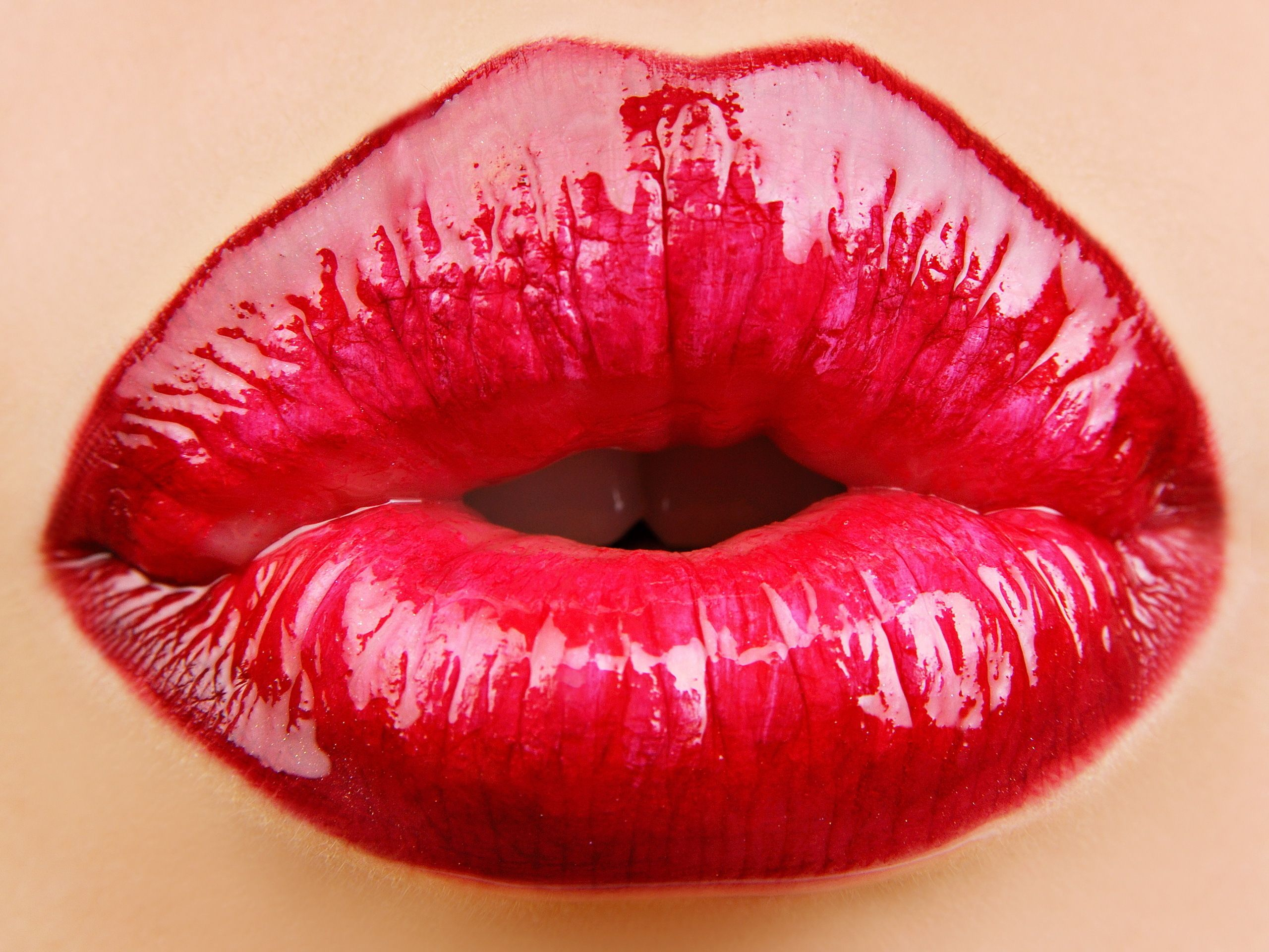 Pin Van Michael Ogle Op Glamor Me Roze Lippen Rode Lippen Kus