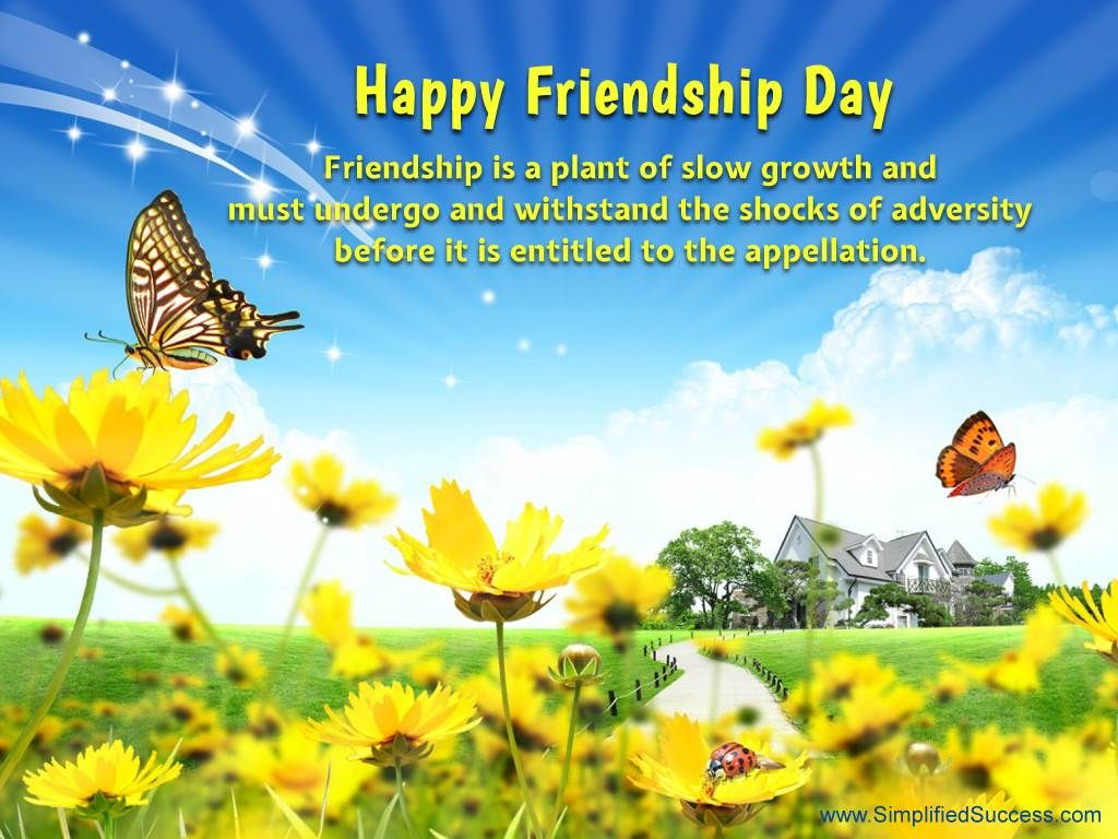 Top Happy Friendship Day Wallpapers Messages Cards 1366795