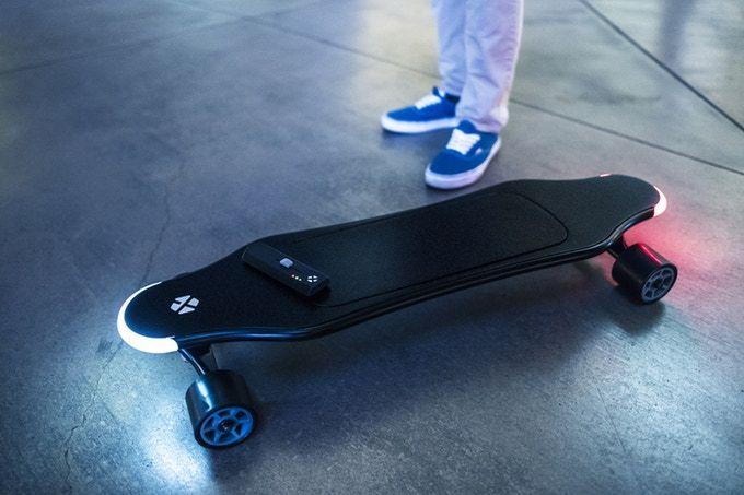 """La XTND Board se trata de un vehículo ligero e inteligente que según sus desarrolladores """"redefine el concepto de transporte urbano""""."""
