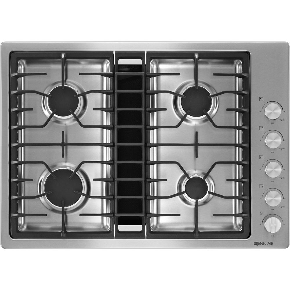 "JENNAIR30"" Downdraft Gas Cooktop Downdraft cooktop, Gas"