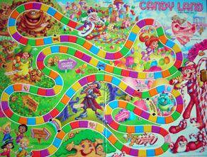 Pix For Printable Candyland Board Candyland Games Candyland Board Game Board Game Template