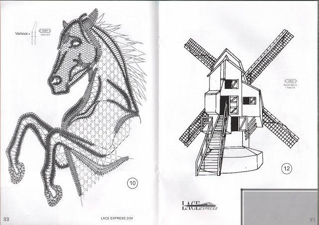 horse pricking