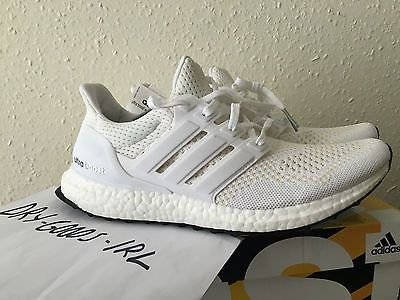 ADIDAS ULTRA BOOST TRIPLE WHITE Womens w S77513 7 40 23 8.5