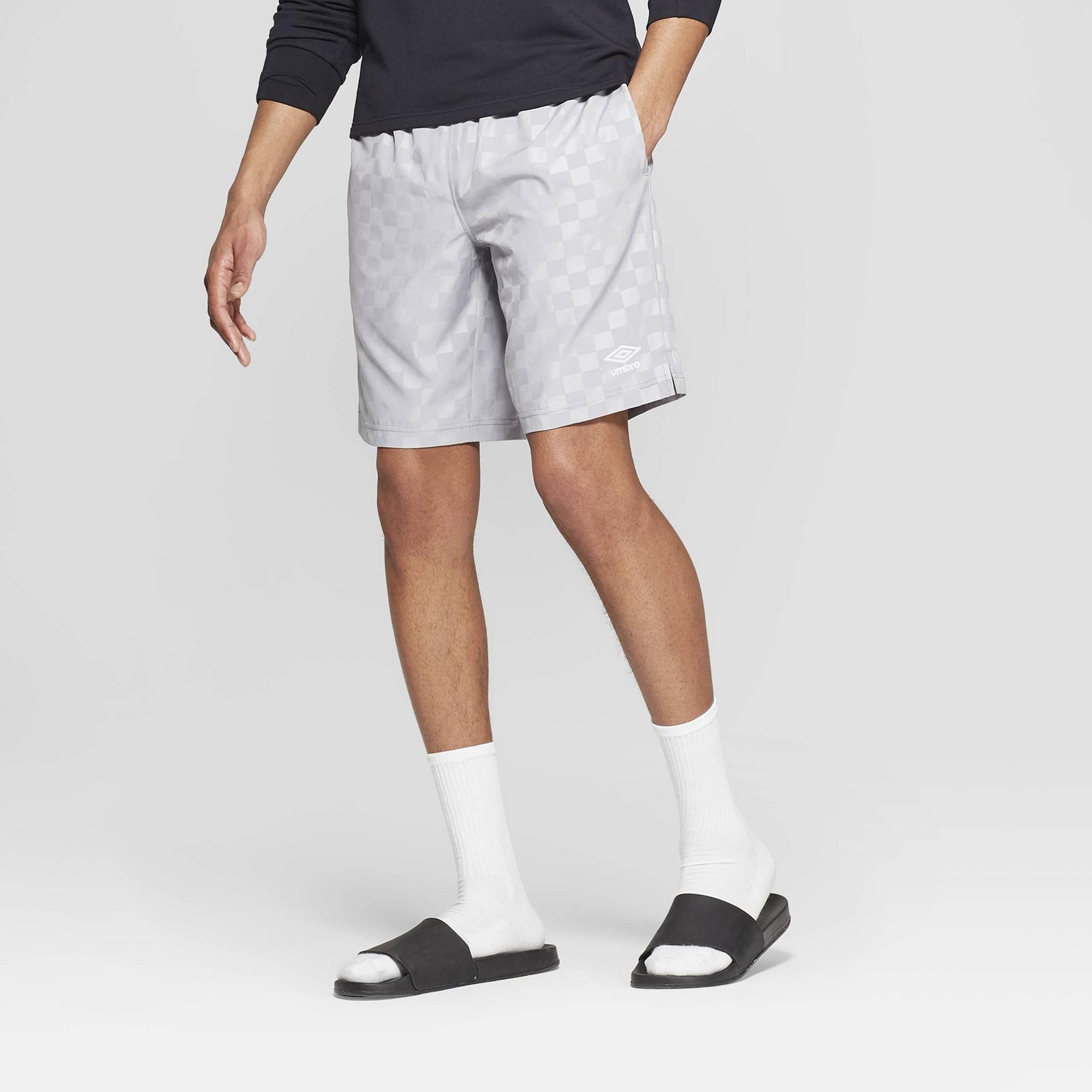 umbro checkerboard shorts