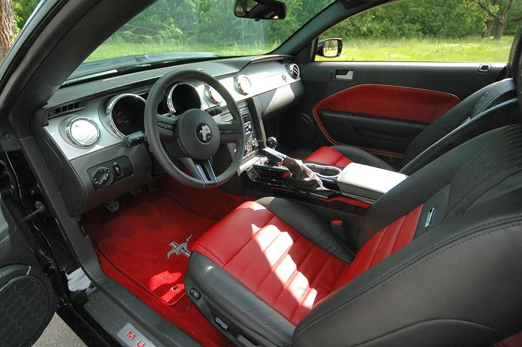 Custom Mustang Interior | 2007 Mustang Interior Change Wdsc_5635 Great Ideas