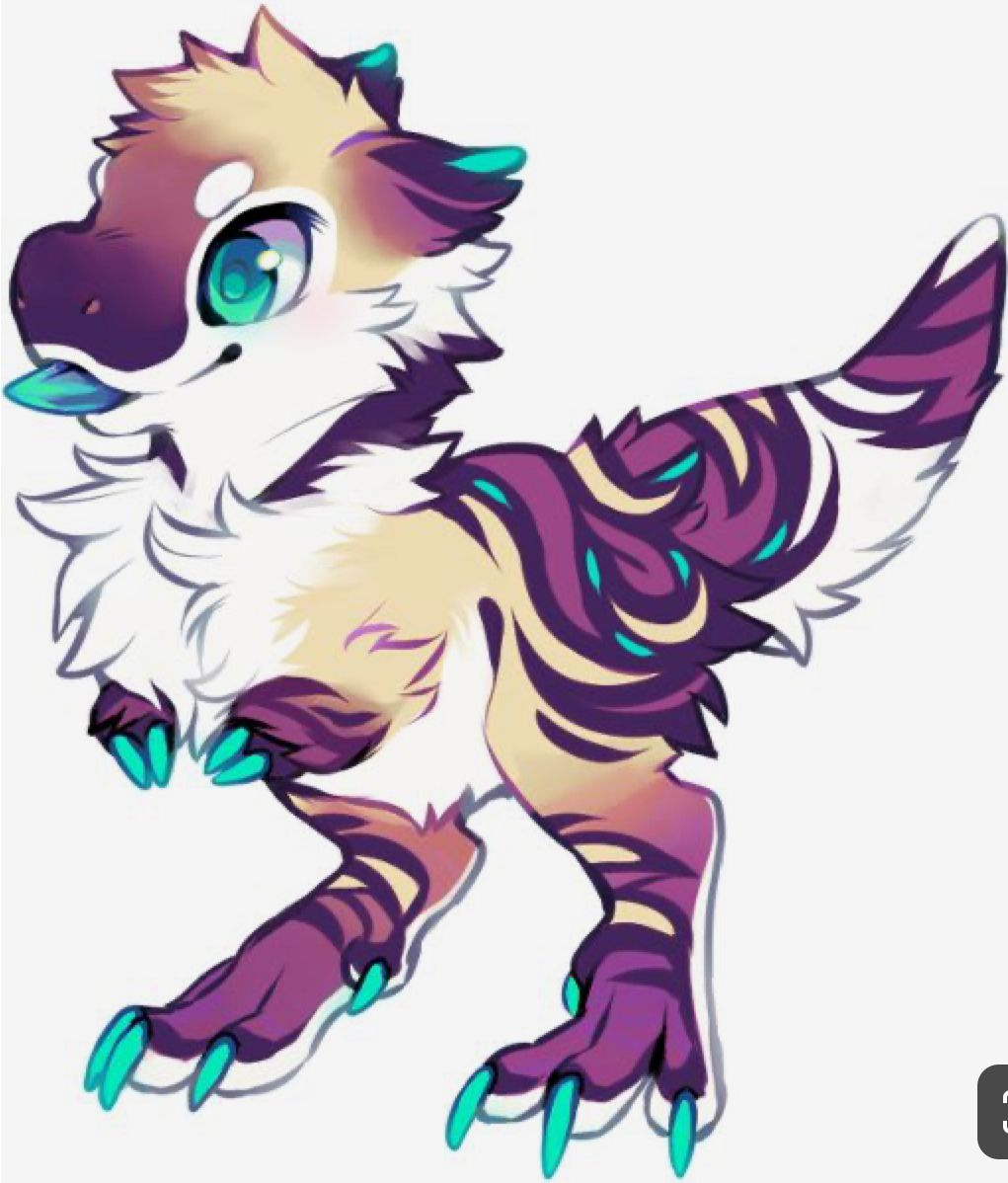 Pin By Amy Peters On Chloe S Stuff Mythical Creatures Art Furry Art Cute Fantasy Creatures