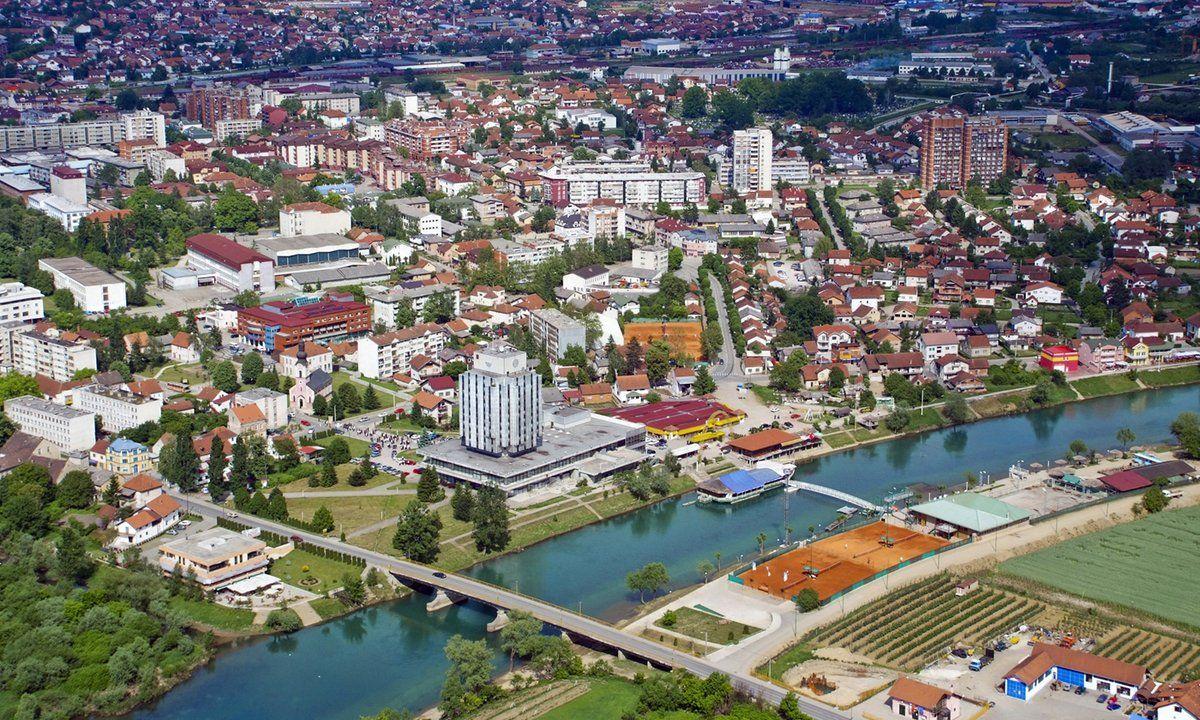 Prijedor | Bosna Hersek | Mansions, House styles, Panorama