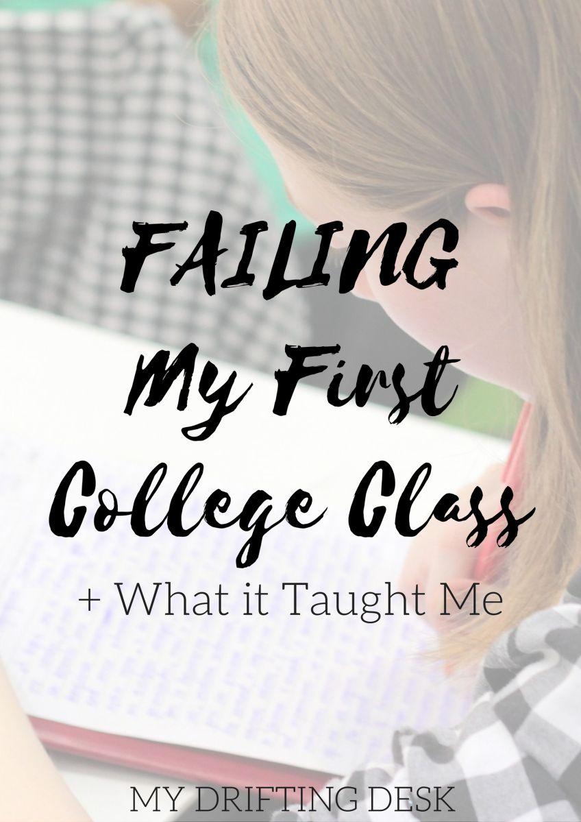 failing a class in college senior year