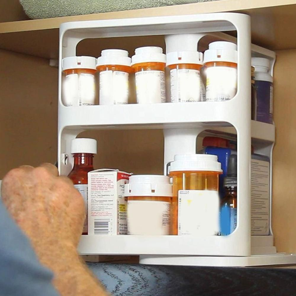 Kitchen Spice Organizer Rack Multi Function Rotating Storage Shelf Slide Kitchen Cabinet Cupboard Organiz In 2020 Storage Rack Kitchen Spice Racks Spice Rack Organiser