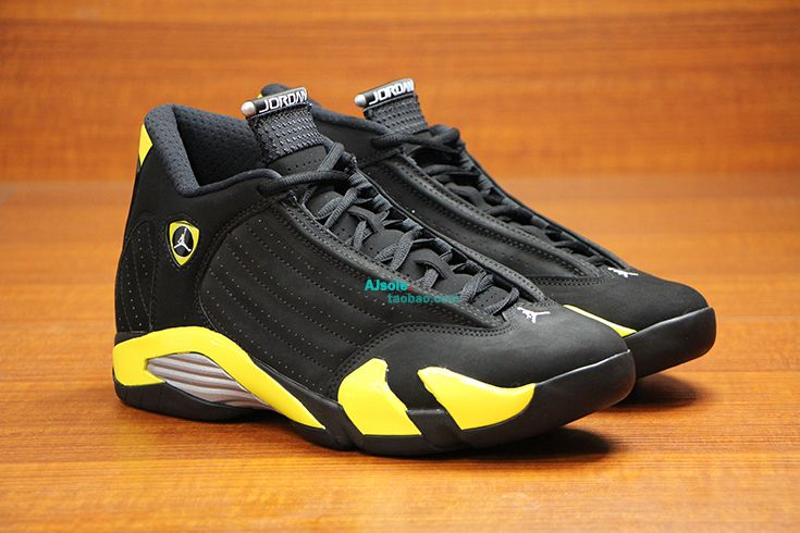Air Jordan 14 Retro Thunder New Detailed Pictures