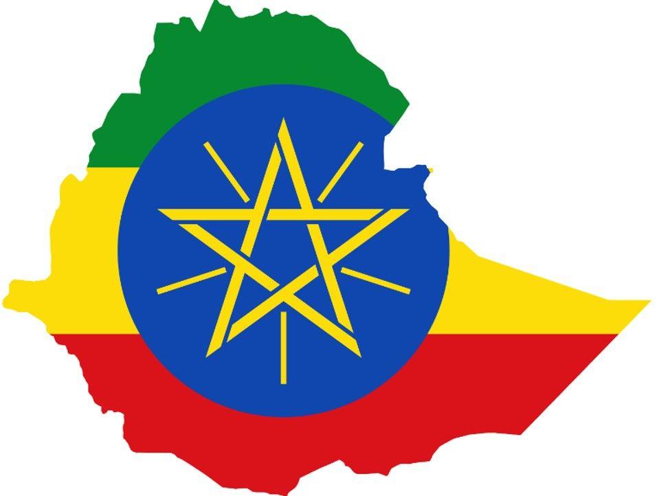 Ethiopia Flag Map Country Flag Maps Ethiopia Ethiopian Flag Flag