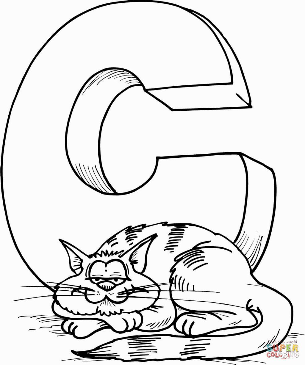 Coloring Pages Letter C | Coloring Pages | Pinterest