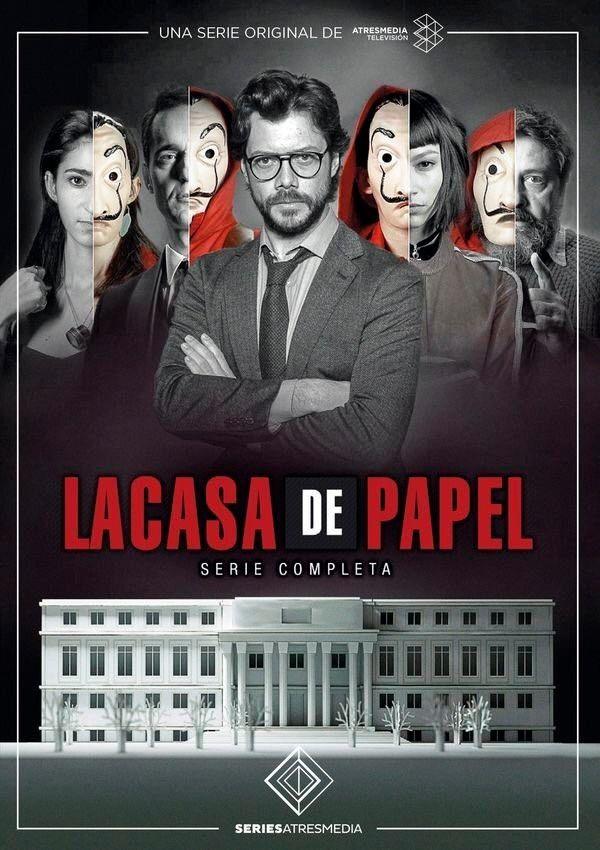 LA CASA DE PAPEL 1ª E 2ª TEMPORADA