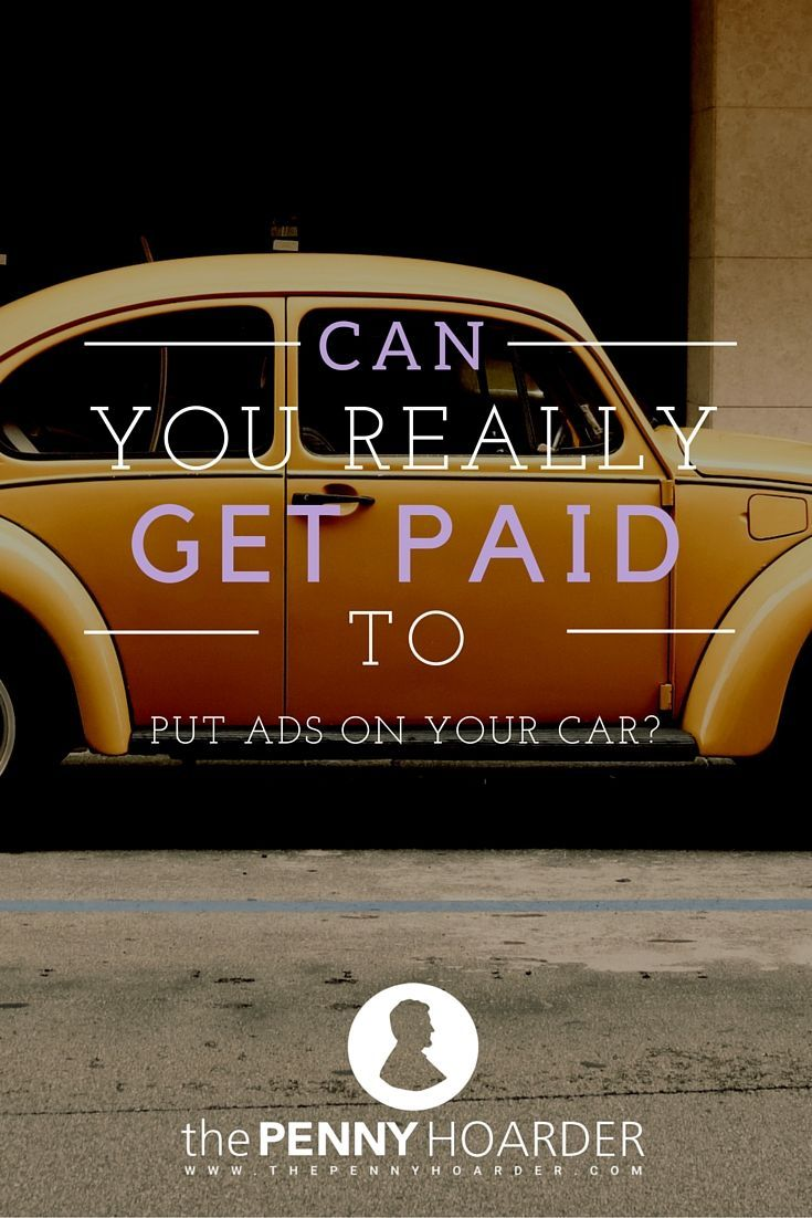 Legit car wrap advertising gigs how to find them and