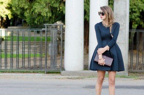 AN ELEGANT BLACK DRESS - FASHION BLOGGER OUTFIT ELEGANTI