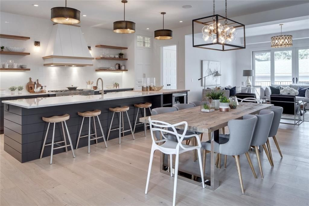 the modern farmhouse kitchen of my dreams kitchen style kitchen island with seating modern on kitchen island ideas modern farmhouse id=24540