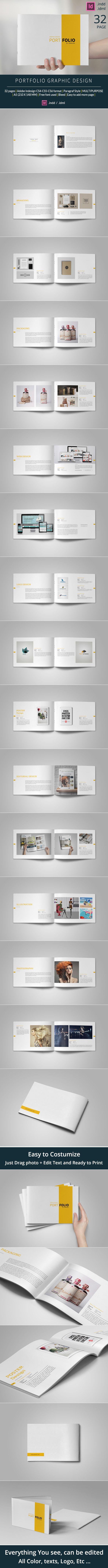 https://www.behance.net/gallery/24281663/Graphic-Design-Portfolio-Template                                                                                                                                                                                 Más